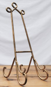 Large Gold Easel