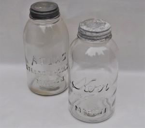 Large Antique Jars
