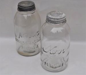 Large Antique Jars