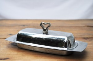 Silver Butter Dish