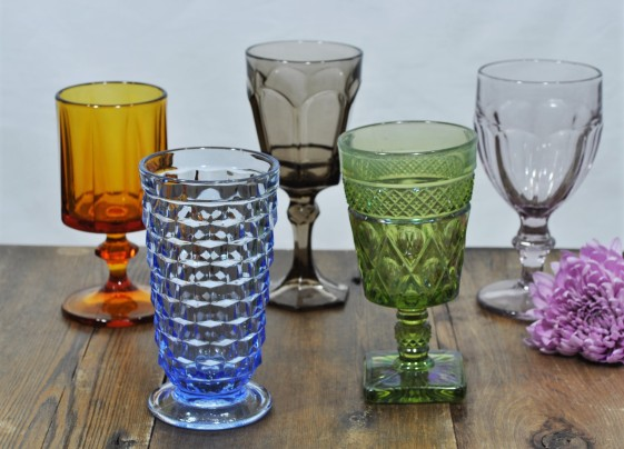 Gorgeous Colored Goblets
