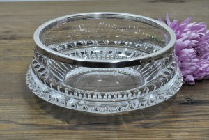 Crystal & Silver Bowl