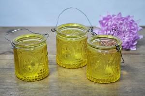Hanging Yellow Jars